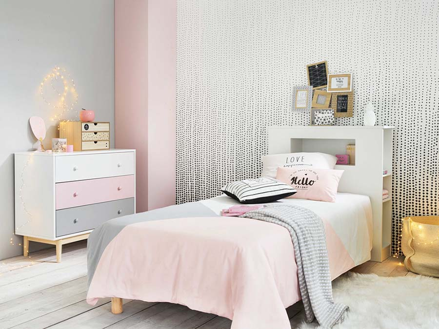 Habitacion juvenil estilo nordico best decorar habitacion ikea ideas juveniles ikea with - Decogarden habitacion juvenil ...